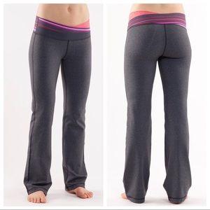 RARE lululemon size 2 Astro yoga pant grey